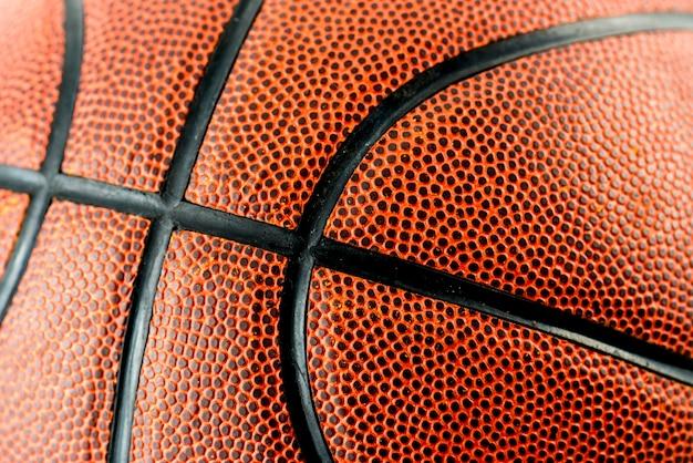 Primo piano di pallacanestro Foto Gratuite
