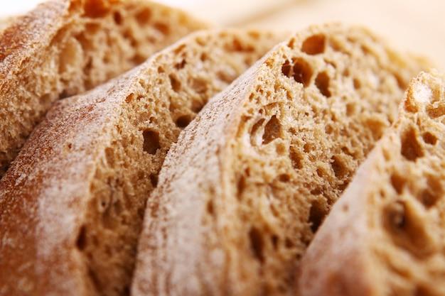 Primo piano di pane a fette Foto Gratuite