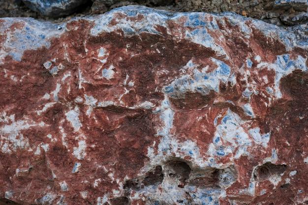 Primo piano di roccia rossa Foto Gratuite