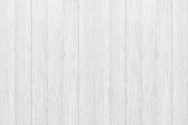 Primo piano di struttura di legno bianca per fondo. verticale in legno rustico Foto Premium