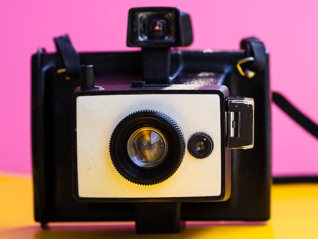 Primo piano di una macchina fotografica d'epoca Foto Gratuite