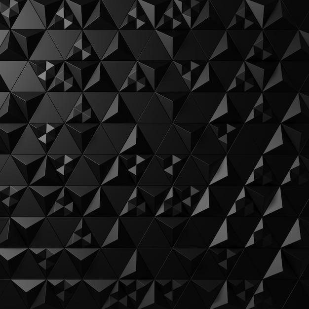 Priorità bassa astratta della parete moderna delle mattonelle. rendering 3d. Foto Premium