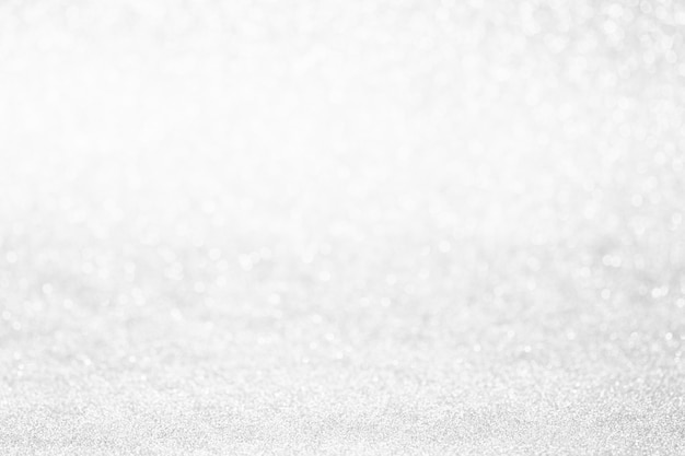 Priorità bassa astratta di natale di scintillio. luci del bokeh di natale di inverno defocused. Foto Premium