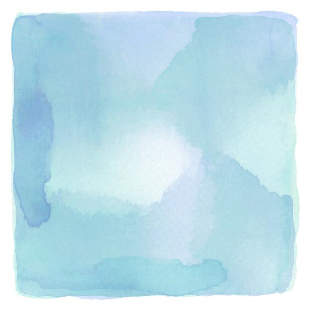 Priorità bassa blu e verde astratta dell'acquerello Foto Premium