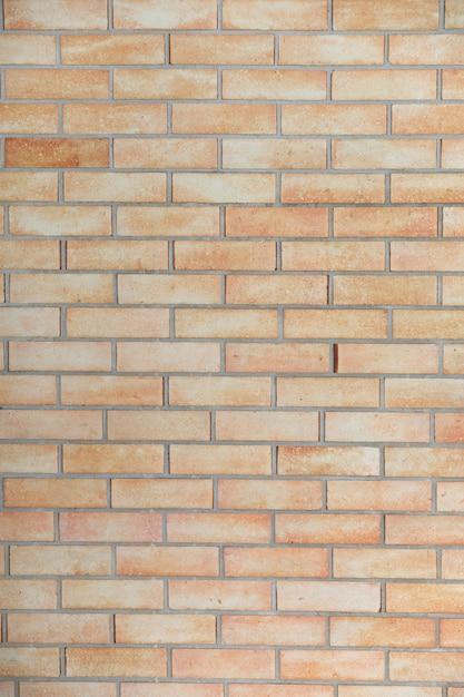 Priorità bassa del mattone marrone di struttura e della parete di pietra Foto Premium