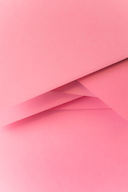 Priorità bassa della bandiera di carta colorata pastello rosa Foto Gratuite