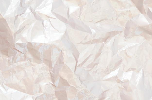 Priorità bassa di carta strutturata sgualcita grungy. carta per incartare. Foto Premium