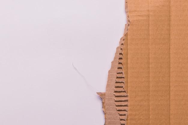 Priorità bassa di struttura di carta marrone Foto Gratuite