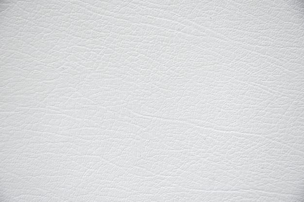 Priorità bassa di struttura in pelle bianca. Foto Premium