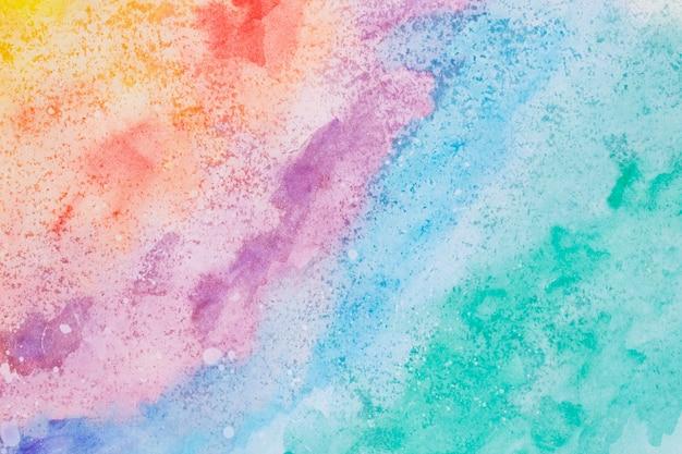Priorità bassa variopinta della vernice della mano di arte dell'acquerello Foto Gratuite