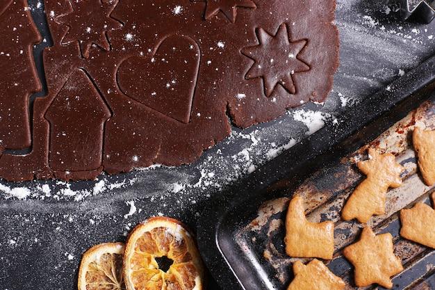 Processo di produzione dei cookie Foto Gratuite