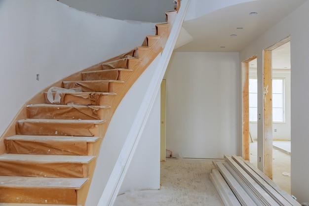 Processo per in costruzione, ristrutturazione, ristrutturazione, ampliamento, restauro e ricostruzione. Foto Premium
