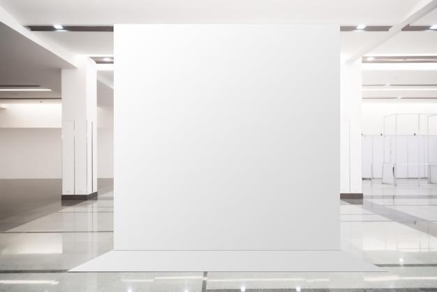 Proporzioni - unità di base pop-up tessuto banner pubblicitario banner display sfondo vuoto Foto Premium