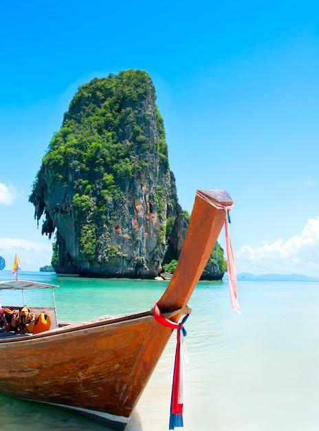 Railay spiaggia, krabi, mare delle andamane in thailandia Foto Gratuite