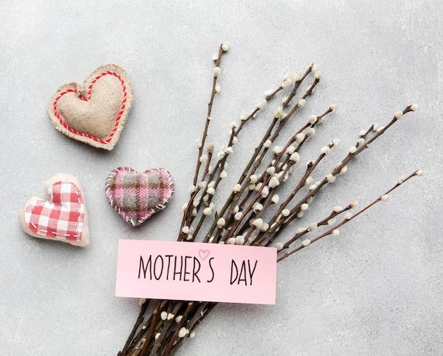 Rami di fiori per la festa della mamma Foto Gratuite