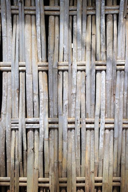 Recinzione di bambù Foto Premium