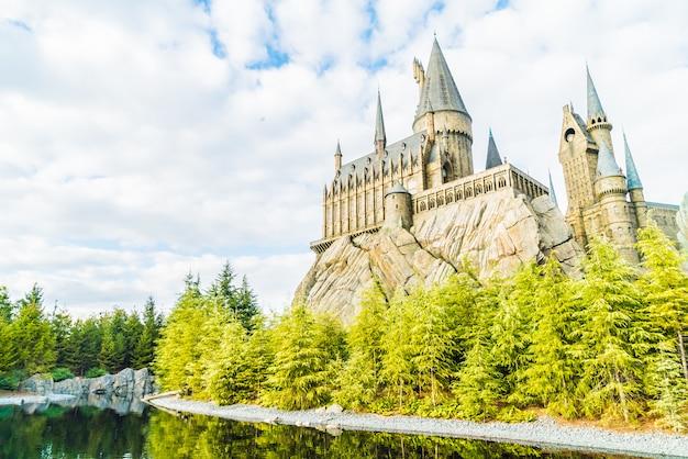 Replica di hogwarts school of witchcraft castle and wizardry Foto Gratuite