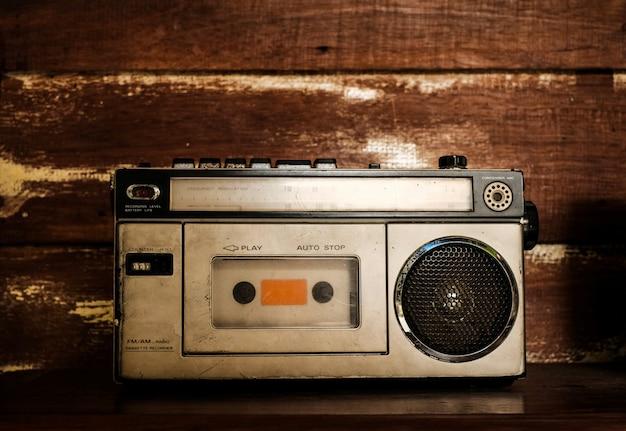 Ricevitore radio vintage Foto Premium