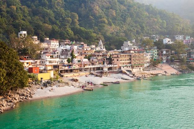 Rishikesh in india Foto Premium