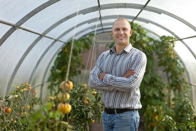 Ritratto di agricoltore Foto Gratuite