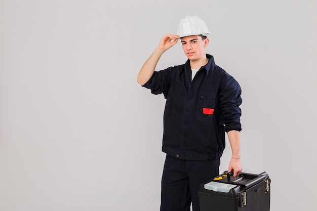 Ritratto di idraulico Foto Gratuite