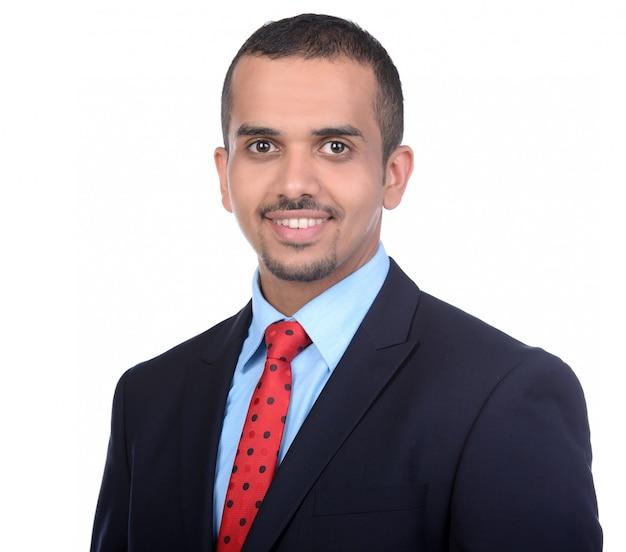 Ritratto di un giovane uomo d'affari asiatico Foto Premium