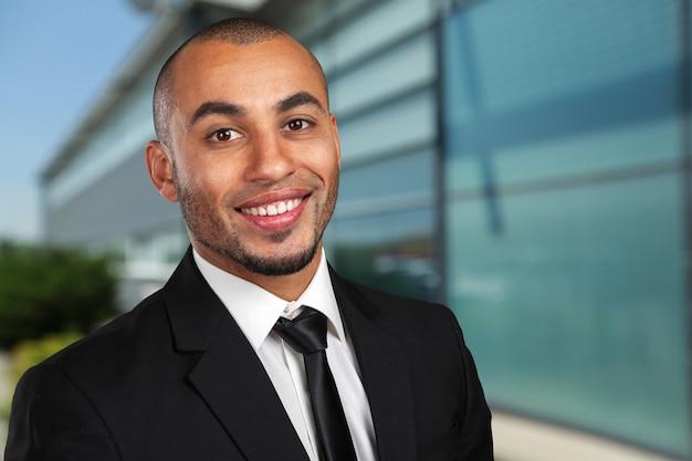 Ritratto di uomo d'affari Foto Premium