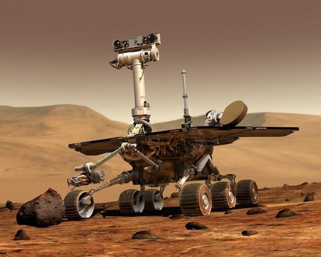 Robot di viaggio mars rover spazio Foto Gratuite