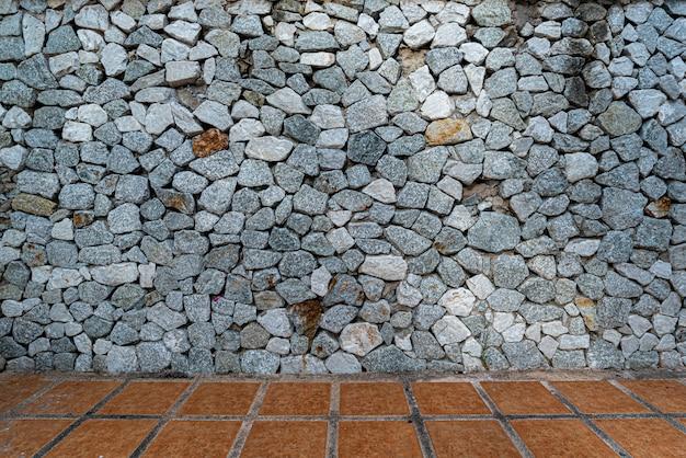 Roccia, priorità bassa di struttura di pietra Foto Premium