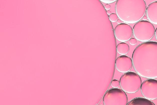 Rosa sfondo astratto con bolle Foto Gratuite
