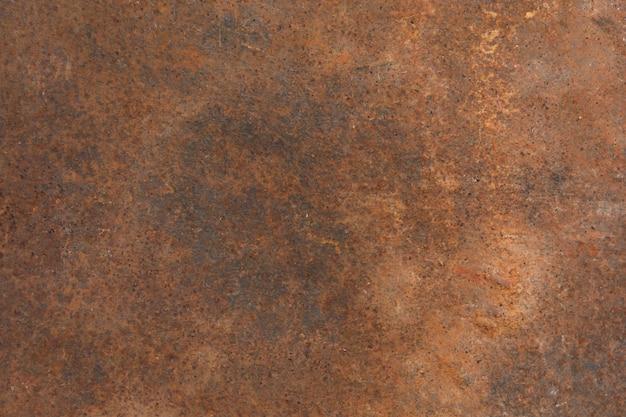 Ruggine sulla lamiera sottile, fondo della ruggine di lerciume Foto Premium
