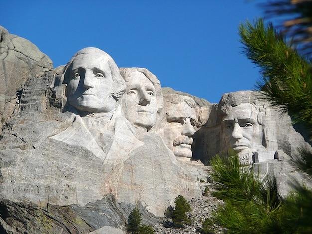 Rushmore presidenti south dakota mount america Foto Gratuite