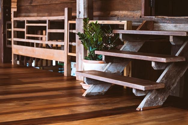 Decorazioni In Legno Per La Casa : Rustico casale in legno interno decorazione di concetto per lo