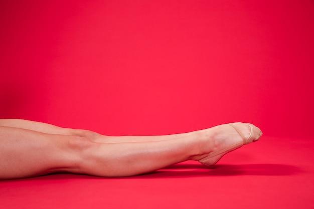 Rymatic piedi ginnasta Foto Gratuite