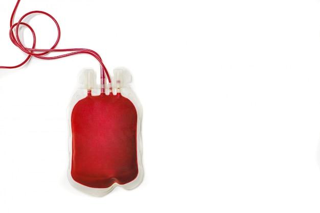 Sacchetto di sangue Foto Premium