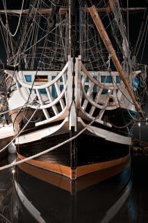 Saint malo storico vecchia barca Foto Gratuite