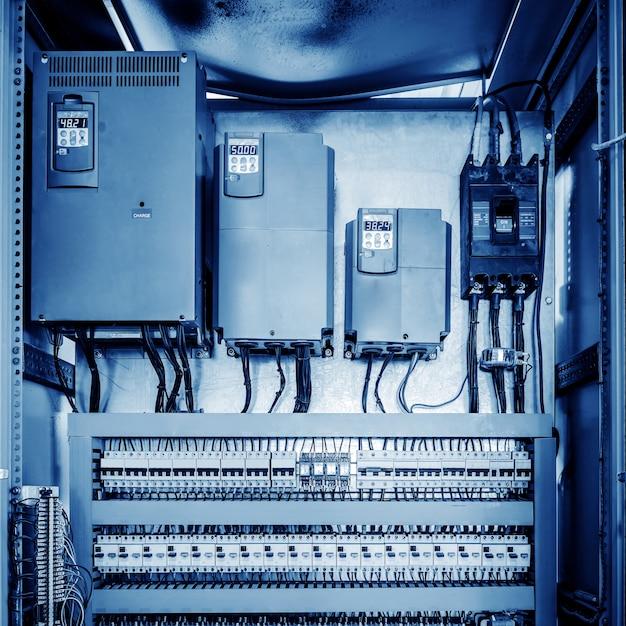 Sala di controllo macchinari Foto Premium