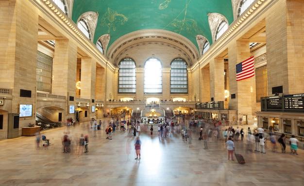 Sala principale grand central terminal, new york Foto Premium