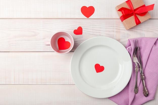 San valentino ambiente romantico Foto Premium