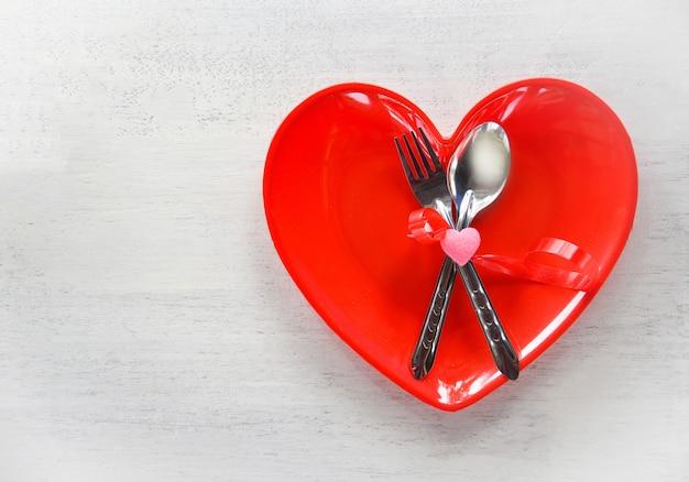 San valentino cena romantica amore cibo cucina tavola romantica Foto Premium