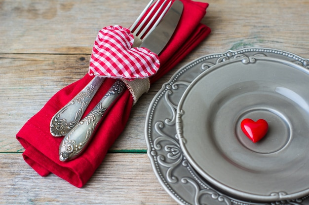 San valentino in stile vintage Foto Premium