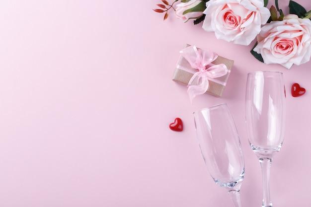 San valentino sullo sfondo Foto Premium