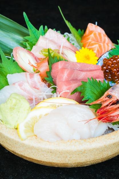Sashimi misto Foto Gratuite