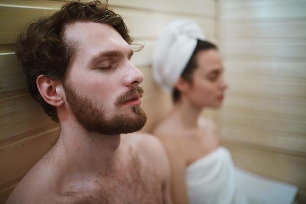 Sauna relax Foto Gratuite