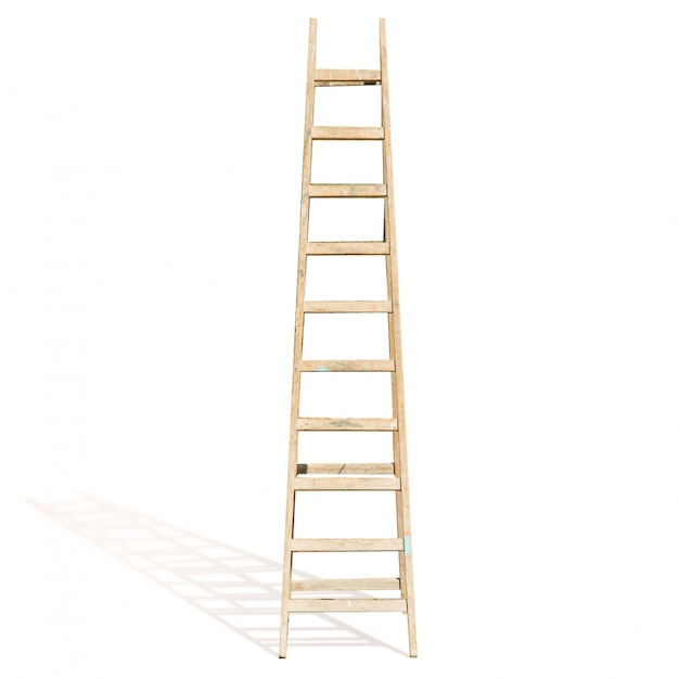scala a pioli di legno scaricare foto gratis