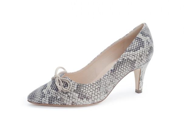 Scarpe dei tacchi alti della donna isolate Foto Premium