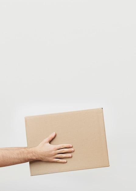 Scatola di consegna dello spazio di copia Foto Gratuite