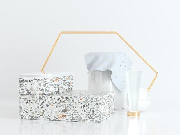 Scatole e contenitori di marmo Foto Premium