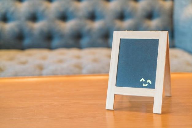 Scheda di menu vuota Foto Gratuite