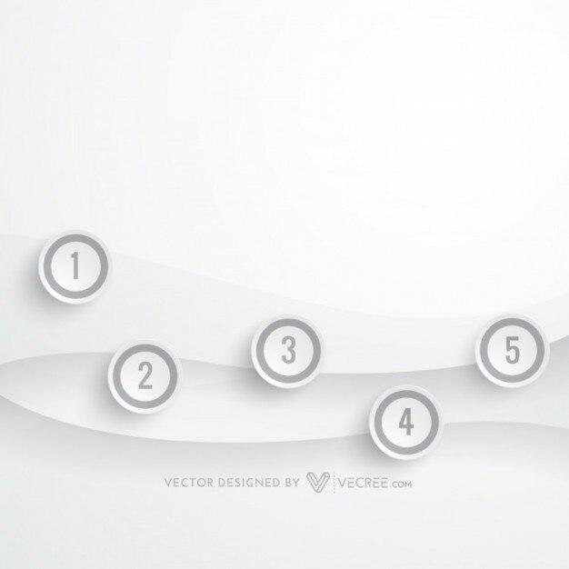 Semplice movimento concetto di business infografica for Semplice creatore di piano gratuito